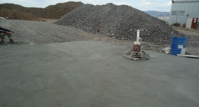 Άμμος βιομηχανικών δαπέδων εφαρμογή με ίνες