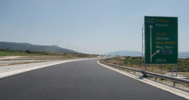 Construction of Egnatia Motorway