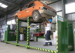 Η ανακύκλωση αυτοκινήτου σε εικόνες