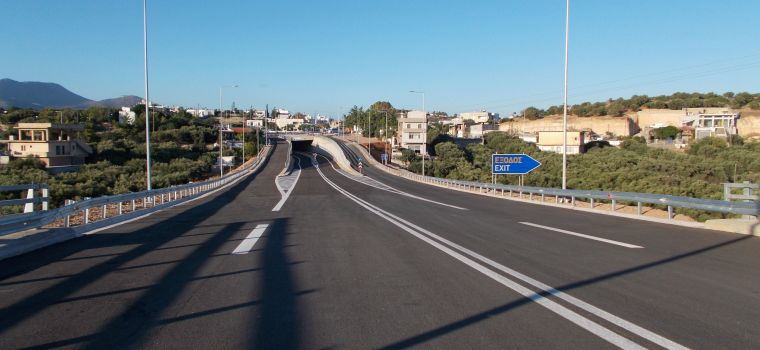 North highway of Crete, area of Kalo Chorio