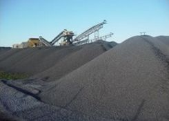 Aggregates and construction materials